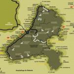 mapa das Ilhabela praias trilhas e cachoeiras
