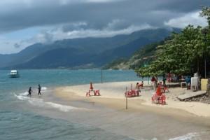 Praia da Pedra Miúda em Ilhabela