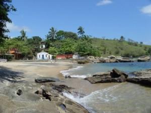 Praia do Portinho em Ilhabela